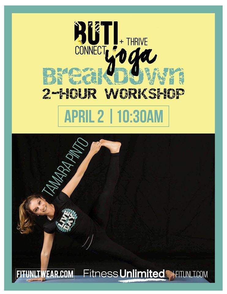 Free Buti Yoga Workshop