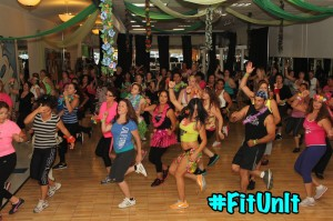 One of annual Halloween Zumba Master Classes