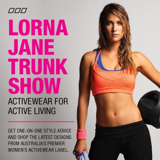Lorna Jane Trunk Show