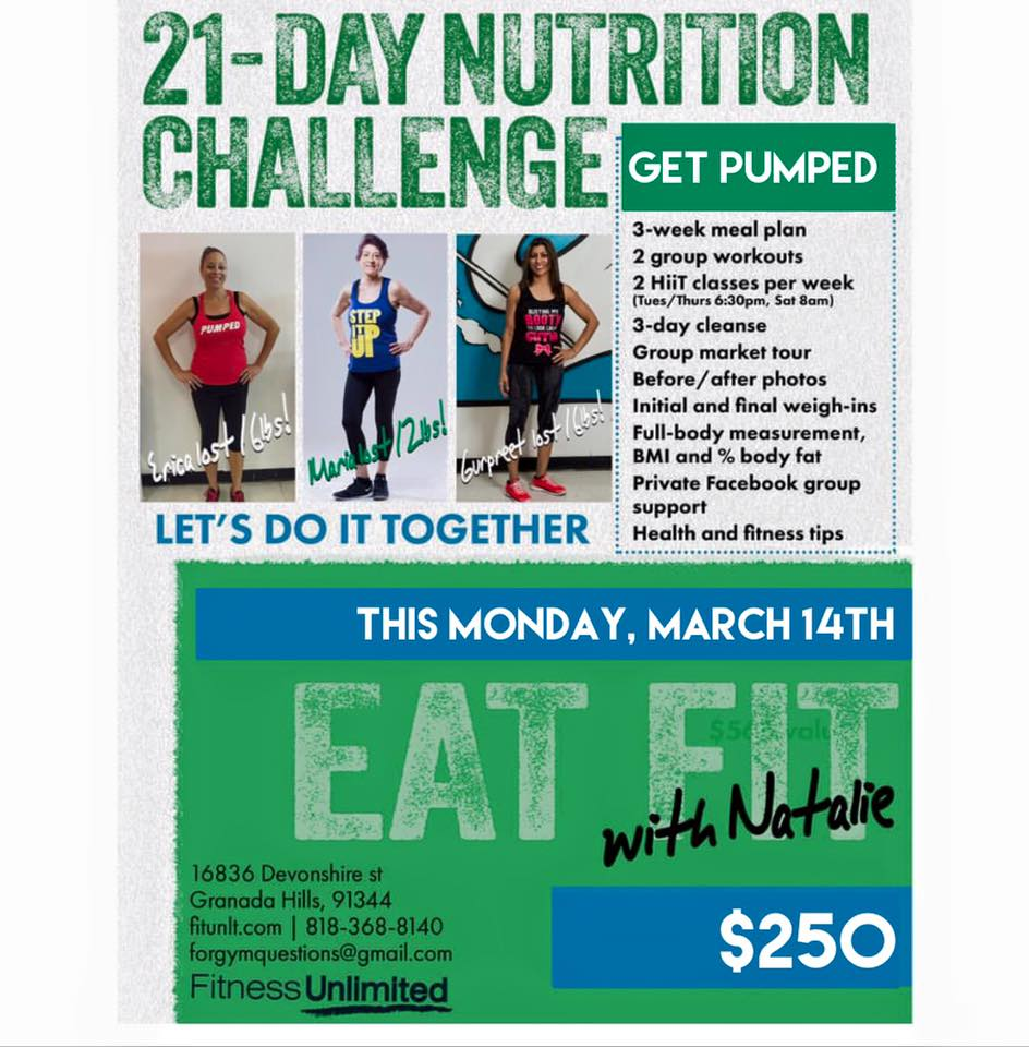 21 Day Challenge| This Monday