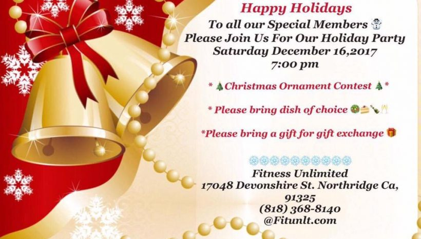 Annual Member Holiday Party